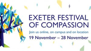Exeter Festival of Compassion poster